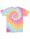 Multi Spiral Youth T-Shirt, Dyenomite 70BMS // DY70BMS