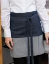 Jeans-Vorbinder 2-farbig 80 x 45 cm, Exner 13417 // EX134