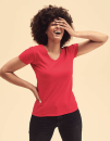 Ladies Valueweight V Neck T, Fruit of the Loom 61-398-0...