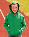 Kids Premium Hooded Sweat, Fruit of the Loom 62-037-0 //...