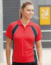 Ladies` Jersey Team Polo, Finden+Hales LV351 // FH351