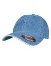 Low Profile Denim Cap, FLEXFIT 6245DE // FX6245DE