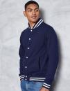 College Jacket, Just Hoods JH041 // JH041
