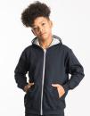 Kids` Varsity Zoodie, Just Hoods JH053J // JH053K