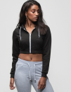 Girlie Cropped Zoodie, Just Hoods JH056 // JH056