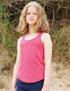 Girls Racerback Tank Vest, Mantis Kids MK81 // MK81