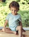 Babies Short Sleeve Bodystocking, Neutral O11030 // NE11030