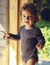 Babies Long Sleeve Bodystocking, Neutral O11130 // NE11130