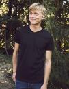 Men`s V-neck T-Shirt, Neutral O61005 // NE61005