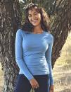 Ladies` Long Sleeve T-Shirt, Neutral O81050 // NE81050