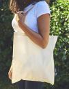 Shopping Bag with Long Handles, Neutral O90014 // NE90014