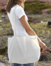 Shopping Bag with Gusset, Neutral O90015 // NE90015