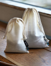 Cotton Bag with Drawstrings (5 Pieces), Neutral O95025 //...