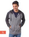 Men`s Lightweight Jersey Raglan Zip Hood, Independent...