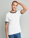 Men`s Ringer T-Shirt, Next Level Apparel 3604 // NX3604