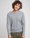 Men`s Long Sleeve Tri-Blend T-Shirt, Next Level Apparel...