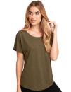 Ladies` Tri-Blend Dolman-T-Shirt, Next Level Apparel 6760...