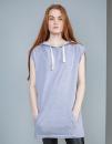 Women`s Oversized Sleeveless Hoodie, Mantis M113 // P113