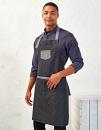 Domain Contrast Denim Bib Apron, Premier Workwear PR127...