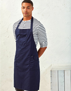 Cotton Chino Bib Apron, Premier Workwear PR132 // PW132