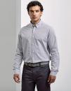 Mens Cotton Rich Oxford Stripes Shirt, Premier Workwear...