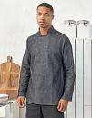 Denim Chefs Jacket, Premier Workwear PR660 // PW660