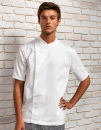 Chef´s Short Sleeve Pull on Tunic, Premier Workwear...