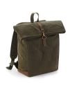 Heritage Waxed Canvas Backpack, Quadra QD655 // QD655