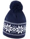 Fair Isle Knitted Hat, Result Winter Essentials R151X //...