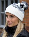 Deluxe Fair Isle Hat, Result Winter Essentials R356X //...