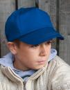 Junior Cotton Cap, Result Headwear RC005J // RH05J
