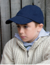 Junior Heavy Brushed Cotton Cap, Result Headwear RC024J...
