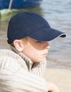 Junior Heavy Brushed Cotton Cap, Result Headwear RC024JP...