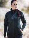 Women Fleece Jacket Besila, Schwarzwolf outdoor  //...