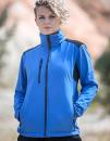 Women Softshell Jacket Breva, Schwarzwolf outdoor  //...