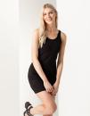 Women`s Stretch Vest Dress, SF Women SK104 // SF104