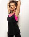 Women`s Fashion Workout Vest, SF Women SK241 // SF241