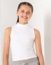 Kids` High Neck Crop Vest, SF Minni SM170 // SM170
