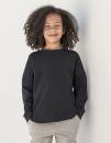 Kids` Drop Shoulder Slogan Top, SF Minni SM514 // SM514