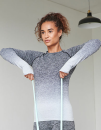 Ladies` Seamless Fade Out Long Sleeved Top, Tombo TL304...