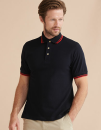 Double Tipped Piqué Polo Shirt, Henbury H150 // W150