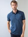 Contrast Tri Blend Polo Shirt, Henbury H490 // W490