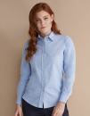Ladies` Classic Long Sleeved Oxford Shirt, Henbury H511...