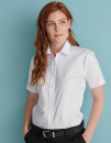 Ladies` Classic Short Sleeved Oxford Shirt, Henbury H516...
