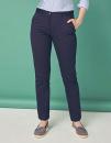 Ladies` 65/35 Poly/Cotton Chino, Henbury H641 // W641