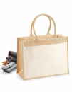 Cotton Pocket Jute Shopper, Westford Mill W427 // WM427