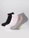 Ladies Trainer Line Socks (3er Pack), Wilson S7007319 //...
