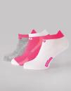 Ladies Training Low Socks (3er Pack), Wilson S7008971 //...