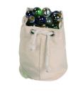 Canvas Marble Bag, Halink -50 // X1054