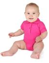 Bio Bodysuit with Polo shirt neck, Link Kids Wear ROM30...